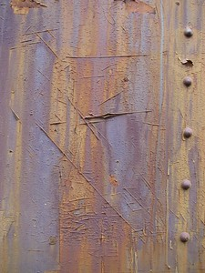Texture  I just found the colors, scratches and rust patterns on the side of this rail car interesting.