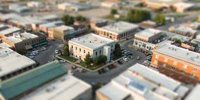 Aerial Photos Taken from the Stroll on the Square on 8/1/2014.