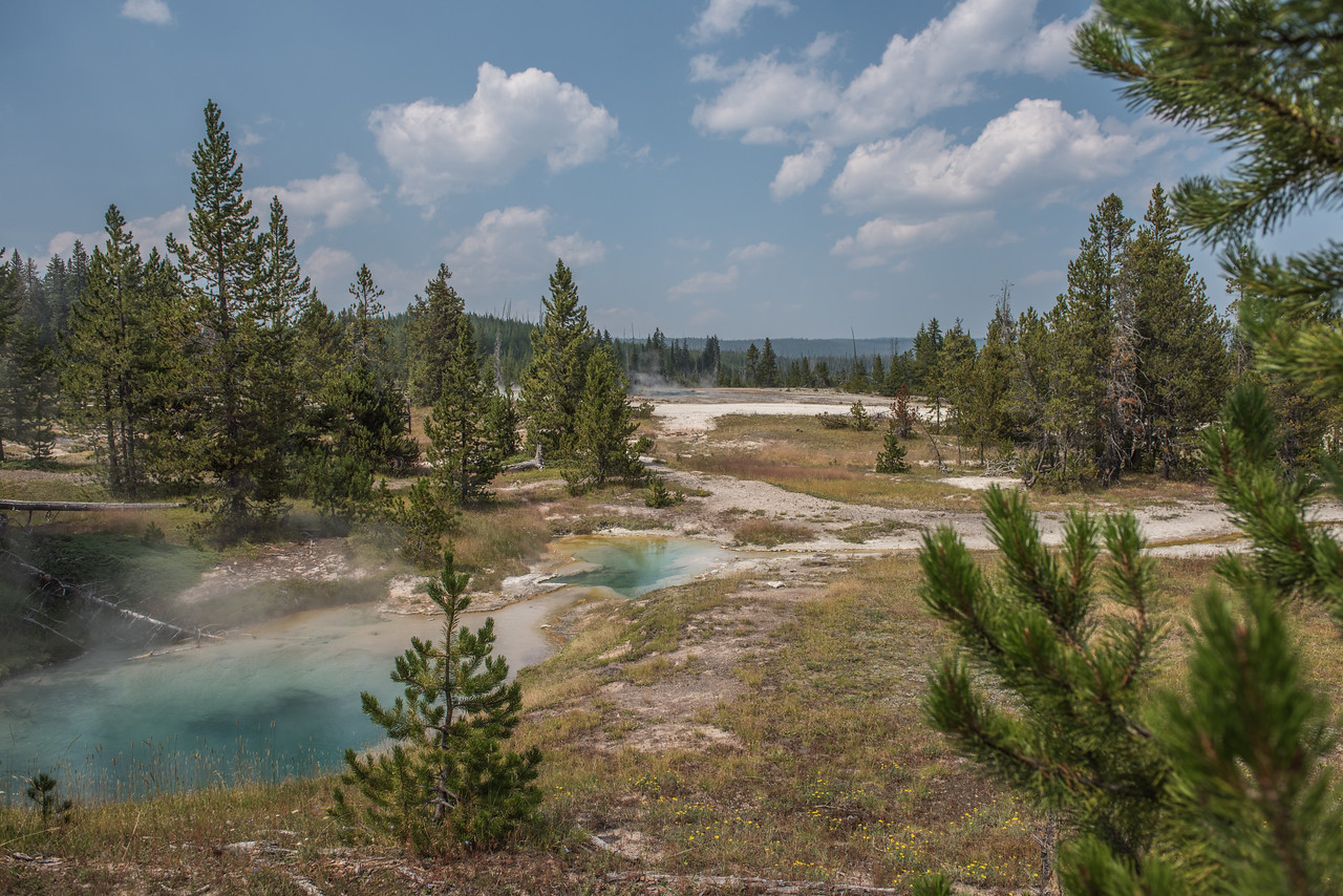 West Thumb Geyser Basin - Yellowstone National Park, Wyoming - Part 2