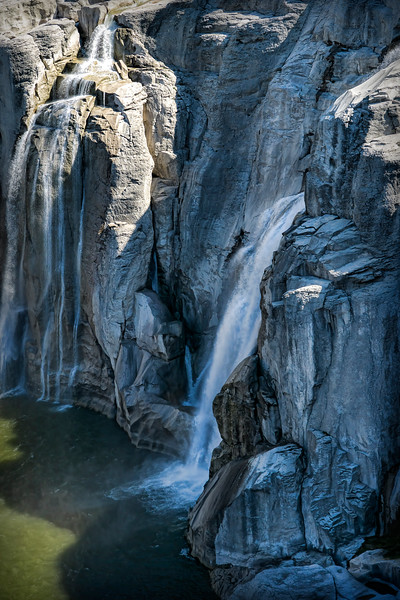 Smaller side of Shoshone Falls, Idaho