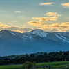 Wasatch Mountains from Heber City