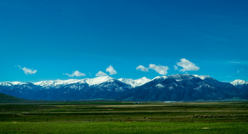 vast openness of Idaho
