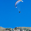 paragliders at Point of the Mountain, Utah
