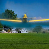 crop duster in Idaho