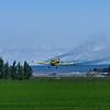 crop duster in Idaho