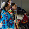 A Native American celebration taking place on campus