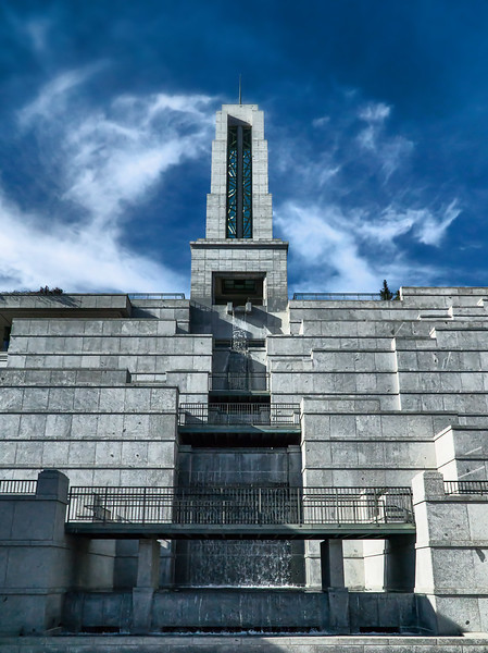 """Conference Center"" building at Mormon (LDS) Temple Square, Salt Lake City, Utah"
