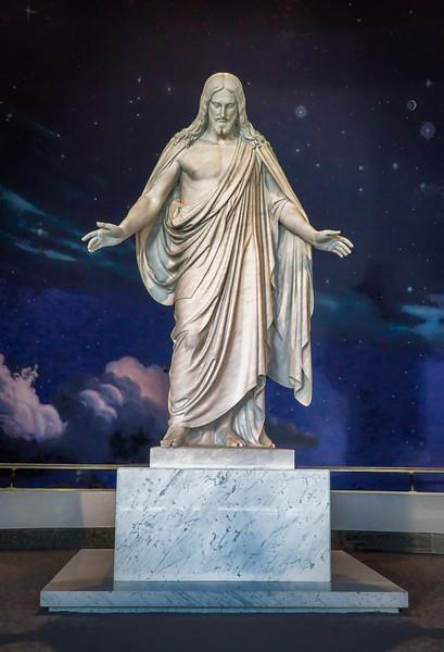 Christus statue, Salt Lake City, Utah