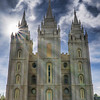 Mormon (LDS) temple, Salt Lake City, Utah