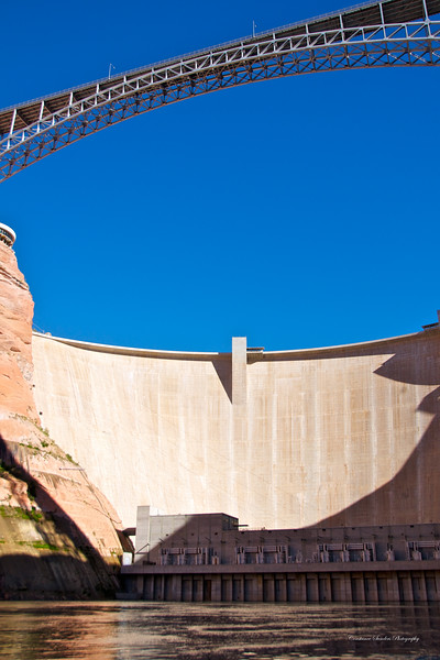 Glen Canyon, Colorado River<br /> <br /> Glen Canyon Dam