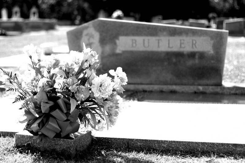 "My grandparent's final resting place<br /> Daniel ""Buster"" Butler (1918-1991) <br /> and Pauline Vann Butler (1922-2007)"