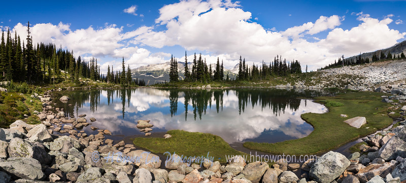 Harmony Lake Panoramic -- Whistler Mountain, B.C.
