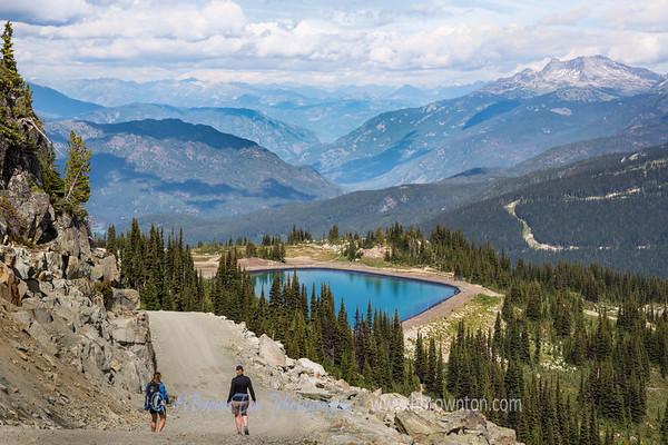 Hiking Whistler, B.C.