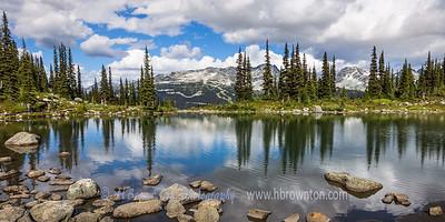 Harmony Lake Panoramic -- Whistler Mountain, B.C.