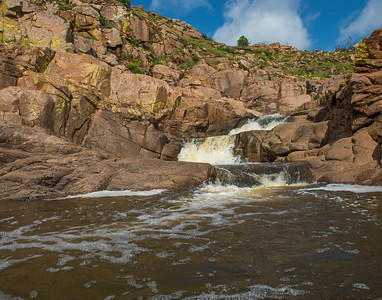 40 Foot Hole after a rain, Wichita Mountains National Wildlife Refuge, OK