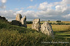 Stones at the entrance to West Kennet Long Barrow ,Pewsey Vale, Wiltshire