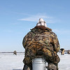 "Ice Fishing on Lake Mendota<br /> ""Sitzfleisch"""