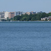 Madison skyline across Lake Monona