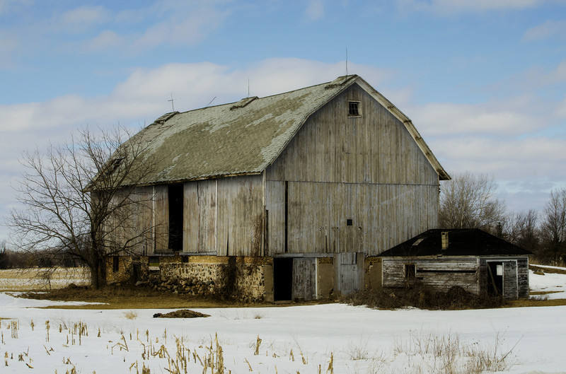Racine County Barn, Rural Wisconsin.
