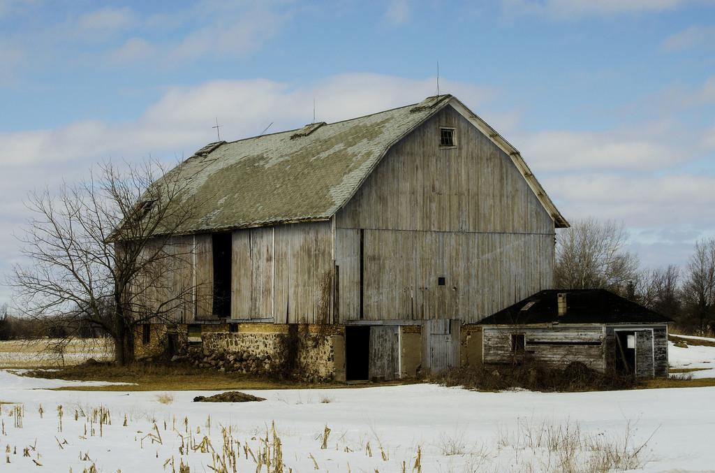 Racine County Barn, Rural Wisconsin.