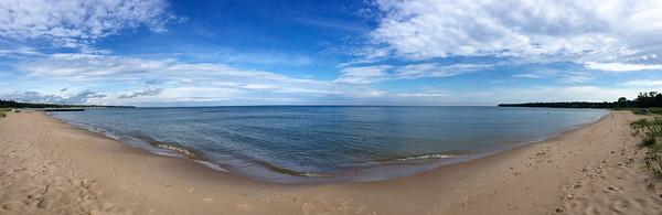 Whitefish Bay panorama
