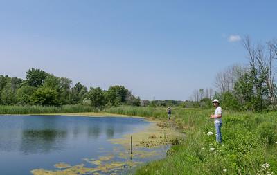 Steve + Jim fishing