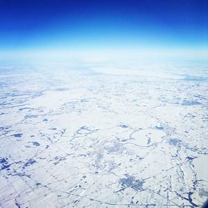winter aerial