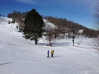 Whitecap Mountain skiing