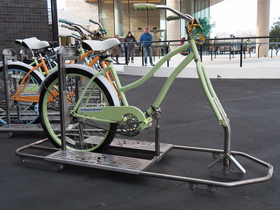 ice bikes at Titletown