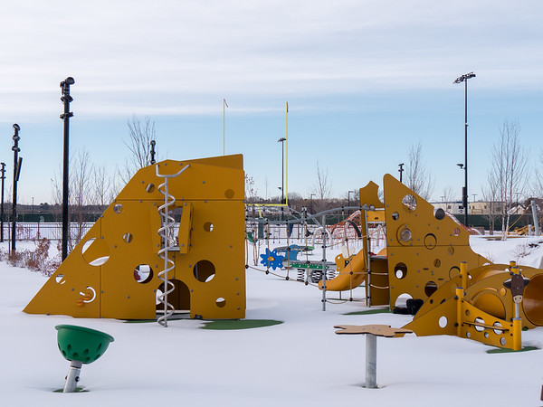 cheese playground at Titletown
