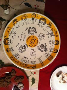 Plamann family plate