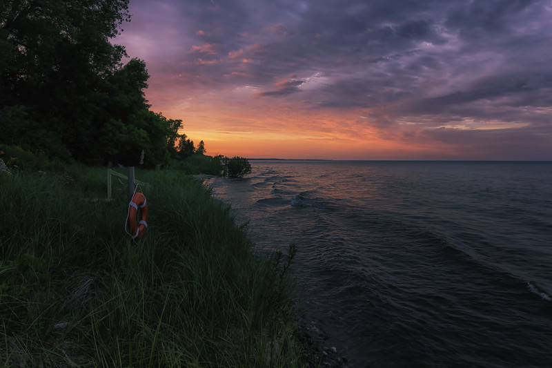 Lakefront Twilight 1