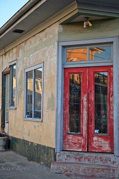 A Marigny/Bywater district storefront, New Orleans.