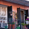 A New Orleans balcony.