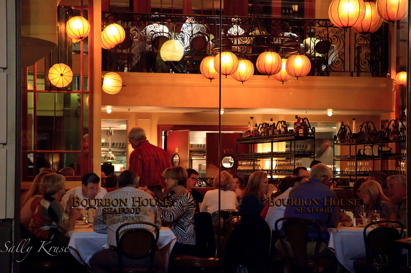 An upscale dining experience, on Bourbon Street in New Orleans, The Bourbon House serves the most delicious seafood.