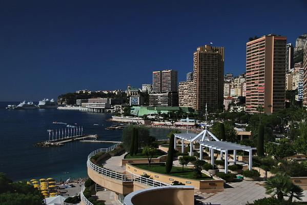 View from Le Meridien Hotel; Monte Carlo, Monaco