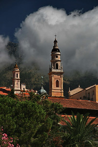 Saint Michel Archange basilica; Menton, France
