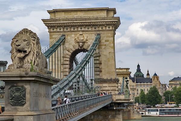 The Chain Bridge; Budapest