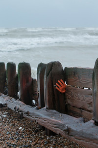 Glove on Groyne