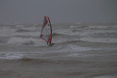 Lancing Beach Windsurfing