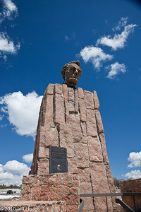 Lincoln Highway Memorial, east of Laramie, WY