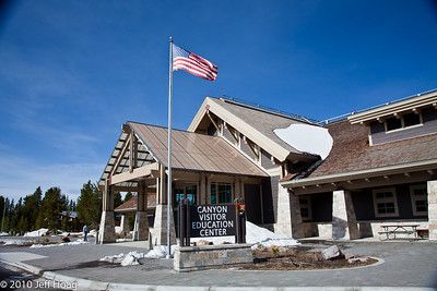 Canyon Village Visitor Center, Yellowstone NP
