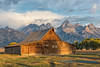 Sunrise on Moulton Barn, Grand Teton NP