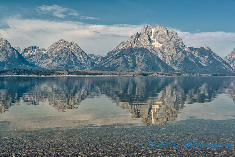 Mount Moran, Jackson Lake, Grand Tetons NP
