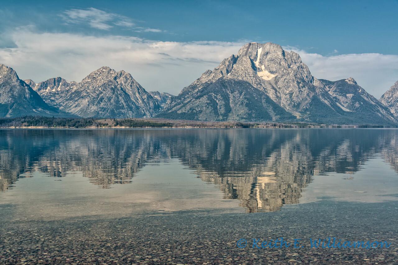 Mount Moran, Jackson Lake, Grand Tetons NP