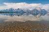 Teton Range, Jackson Lake, Grand Teton NP