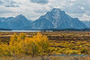 Mount Moran, early fall, Grand Teton NP