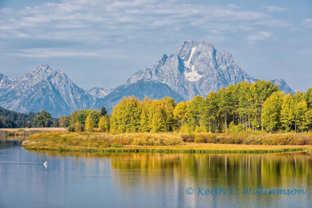 Mount Moran, from Oxbow Bend