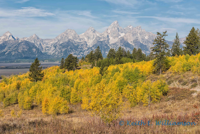 The Grand Teton, from Shadow Mountain Road