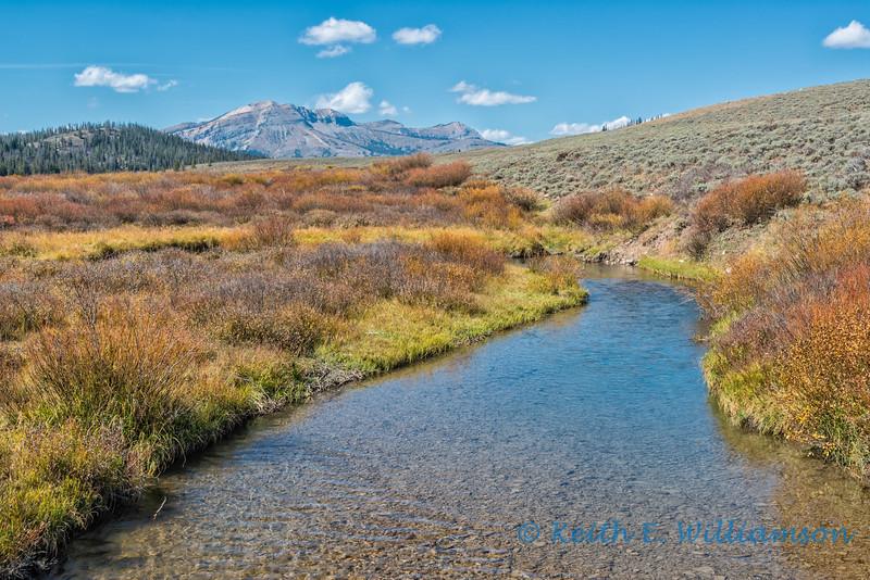 Irene Creek, and Mount McDougal, Wyoming Range